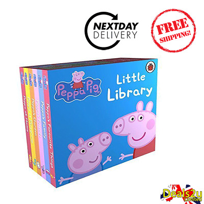 Peppa Pig - Little Library by Ladybird New Board Book Early learning Reading