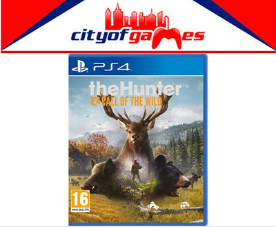 The Hunter Call of the Wild PS4 Game New & Sealed Free Express  In Stock Now