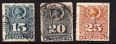 Chile 1878 Columbus Issues
