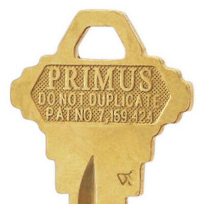Schlage Primus Key Blank - RARE NO SIDE MILLING - HP (fits CP, CEP, EP) Keyways