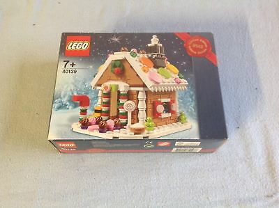 Lego Exclusive 40139 Gingerbread House Ltd Edt New/Sealed/Retired*Free Shipping*