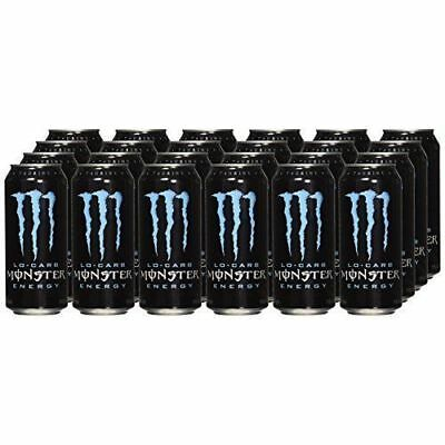 Monster Energy Drink Lo-Carb, 16-Ounce Cans (Pack of 24) - FREE SHIPPING