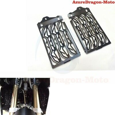 Black Radiator Water Cooled Grill Guard Cover For 2013-2016 BMW R1200GS GSA ADV