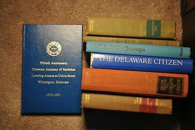 12 Vintage Books - State of Delaware - History Hagley Museum