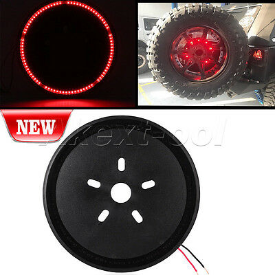 12.5'' Spare Tire LED Third Brake Light for Jeep Wrangler JK/Off Road Light