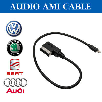 AMI MMI MDI MEDIA Interface iPhone 7 Plus Charge Adapter Cable for Audi VW UK