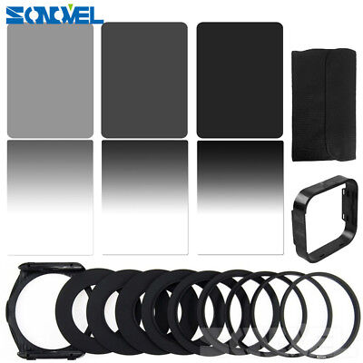 18 in1 Graduated ND2/4/8 Filter Kits Adapter Ring Kit for Cokin P Series 94*83mm
