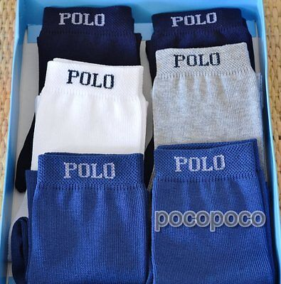 6 Pairs Socks Short Baby Cotton Takpor Art. Polo/2