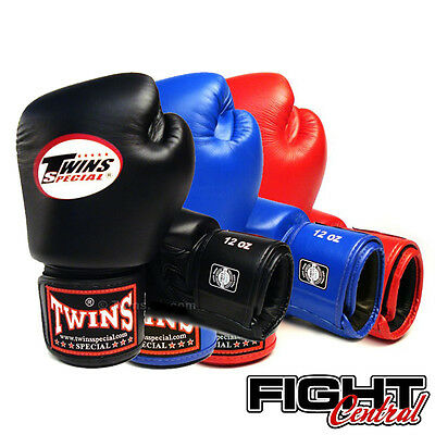 Twins Velcro Boxing Gloves - All Colours - FREE P&P - Muay Thai, MMA, Boxing