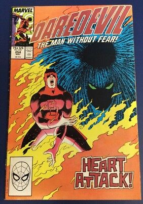 Daredevil #254 (1988) 1st Appearance Of Typhoid Mary