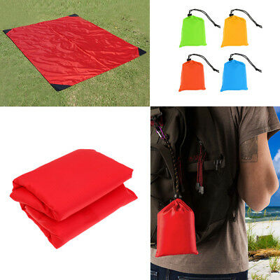 Pocket Sized,Water Resistant,Picnic Beach Blanket Outdoor Camping 59x55 inch