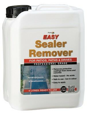 Azpects Professional Grade Sealer Remover  5 Ltr  Super Popular Quality Solution