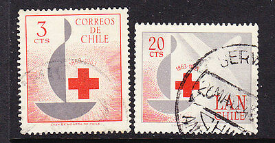 Chile - 1963 Red Cross set   - used