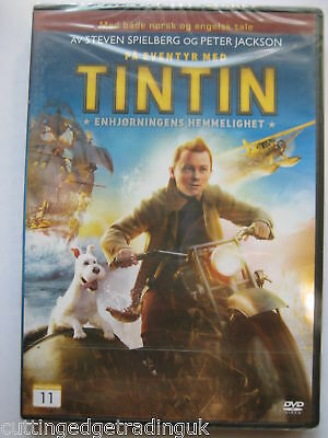 The Adventures Of Tintin - The Secret Of the Unicorn Nordic Packaging NEW SEALED
