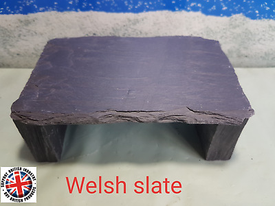 Fennstones small stack your own natural slate cave hide aquarium fish tank