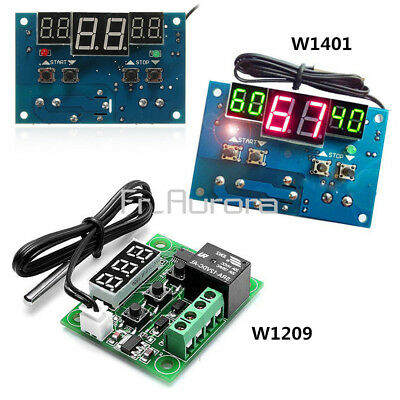 W1401/W1209 12V Digital Thermostat Temperature Control Switch Sensor Module