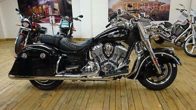 Brand New 2018 Indian Springfield in Thunder Black