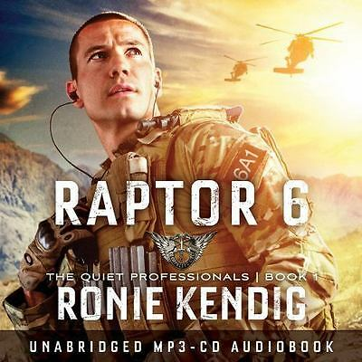 NEW & SEALED Raptor 6 The Quiet Professionals by Ronie Kendig MP3 CD