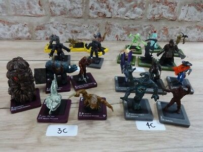Wizards Dreamblade miniatures , figures - Multiple listing -