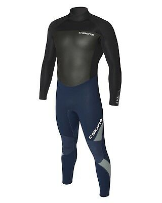 C-Skins Surflite 5/4mm  Mens Wetsuit (2018)  in Blue & Black