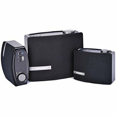 Sylvania Bluetooth; Speakers 2.1-Channel Home Theater Speaker System Black