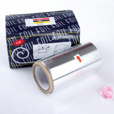 Manicure Tinfoil Foil For Highlighting & Colouring Hair Nails Box aluminium
