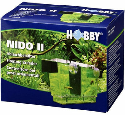 Hobby Nido 2 Spawning Breeding Box Tank Trap Baby Fish Fry Hatchery Aquarium