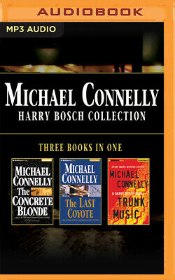 Michael Connelly - Harry Bosch Collection (Books 3,4 & 5): The Concrete Blonde,
