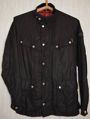 Barbour International Men's Enfield Waxed Jacket – Black MWX0306BK11
