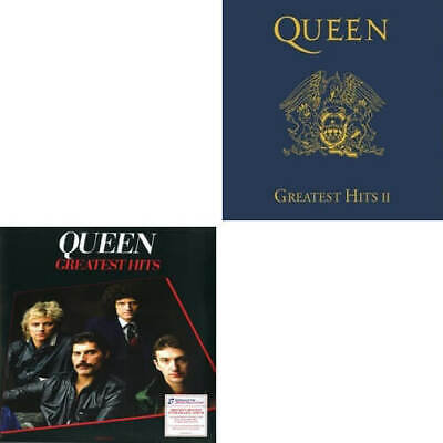 Queen Greatest Hits Volume 1 & 2 remastered 180gm vinyl LPs NEW/SEALED