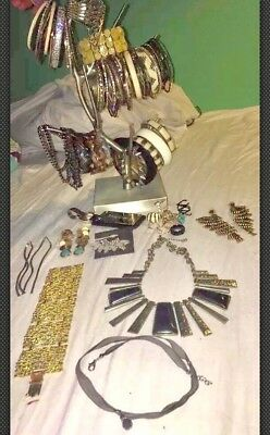 BEBE Jewelry Huge Lot! Many Bracelets, Necklaces, Earrings And  Keychain!