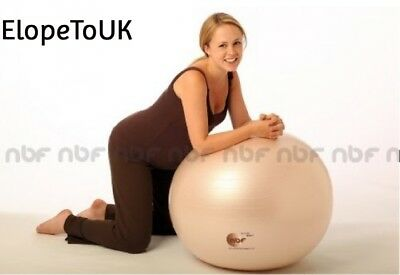 75cm Natural Birth & Fitness Birthing Ball Pump - NBF