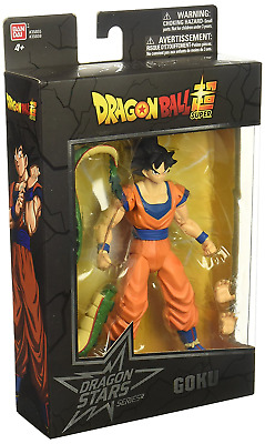 Dragon Ball Super Stars Poseable Goku Figure,An Exclusive Collectible Piece New