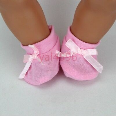 soft pink shoes Wearfor 43cm Baby Born zapf (only sell shoes)