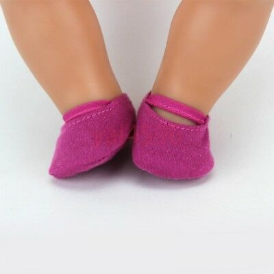 soft shoes Wearfor 43cm Baby Born zapf (only sell shoes)
