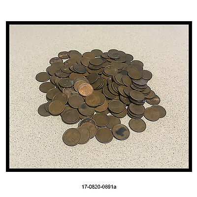Lot of 190 Ten Yen Japanese Coins (Unsearched)
