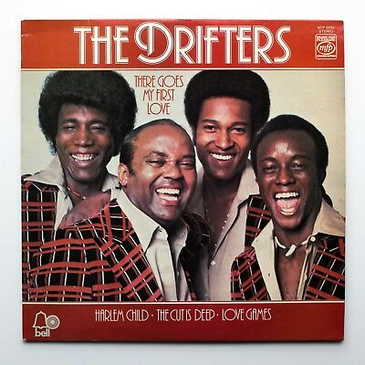 There Goes My First Love - The Drifters - Vinyl Lp Record 1975 Mfp50352 Ex+/ex+