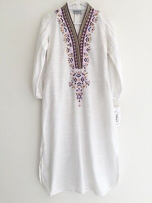 MARIA B. Embroidered Dress NEW WITH TAG Pakistani Designer Size XS