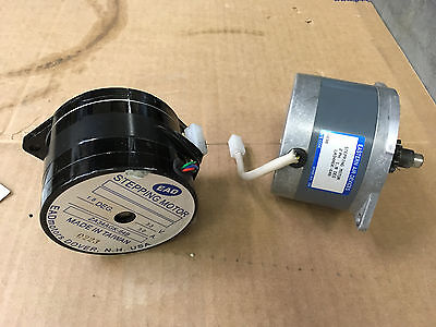 Lot of 3 NEMA 34 Stepper Motors - Single Stack, Single Shaft, EAD LA34AGK-64B