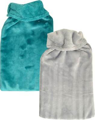 Cuddlesoft Plush Soft Fleece Extra Large 2.7 Litre Hot Water Bottle & Cover