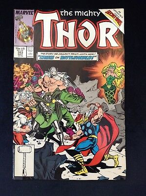 The Mighty Thor #383 Marvel Comics