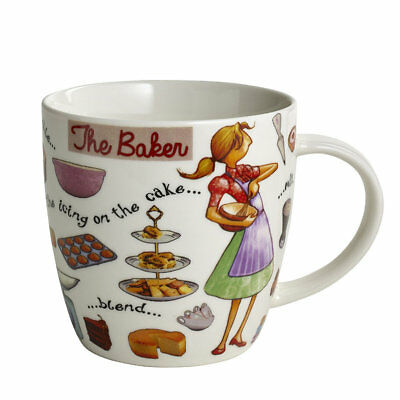 The Baker Mug, 400ml - Fine Bone China