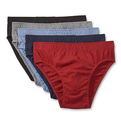 Simply Styled Men's 5-Pack Briefs