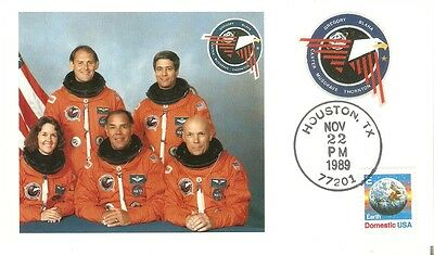 Bildpostkarte Mission space shuttle Discovery STS 51- I