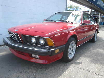 1986 BMW 6-Series  collectible classic low miles 68000miles 68000miles runs and drives well