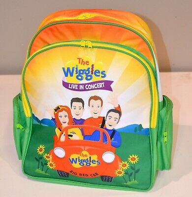 The Wiggles Back Pack, LIVE IN CONCERT- BIG RED CAR- Emma, Lachy, Simon, Anthony