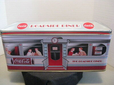 "Coca-Cola ""1996 Roadside Diner"" Tin ~ **Gift Idea"