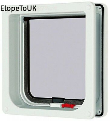 Cat Mate Lockable Flap with Door Liner White