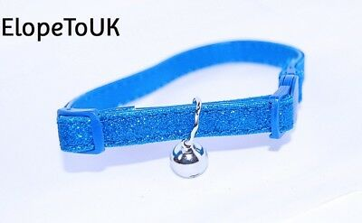 "Pet Palace® ""Glitter Kitty"" Cat Kitten Collar for cats who relish the..."