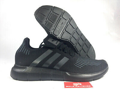 quality design 8019b 0bab7 NEW ADIDAS ORIGINALS Swift Run Running Shoes Mens Triple Black CG4111 h1
